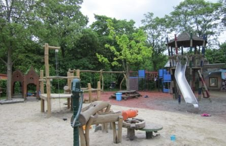 Extra playground for pre-schoolers and out-of-school care